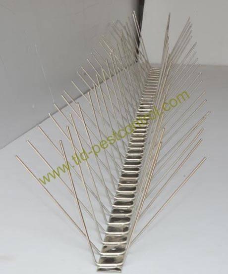 Stainless steel bird spike