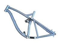 bicycle frame Ti_Full_Suspension_Frame