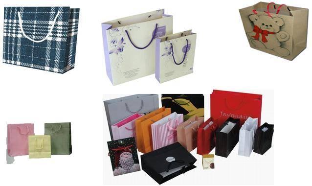 paper shopping bag/paper makeup bag/paper hand bag