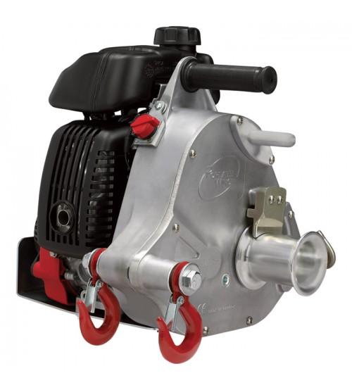 Portable Winch Gas-Powered Capstan Winch - 2,200-Lb. Pulling Capacity, 2.1 HP, Honda GHX-50 Engine