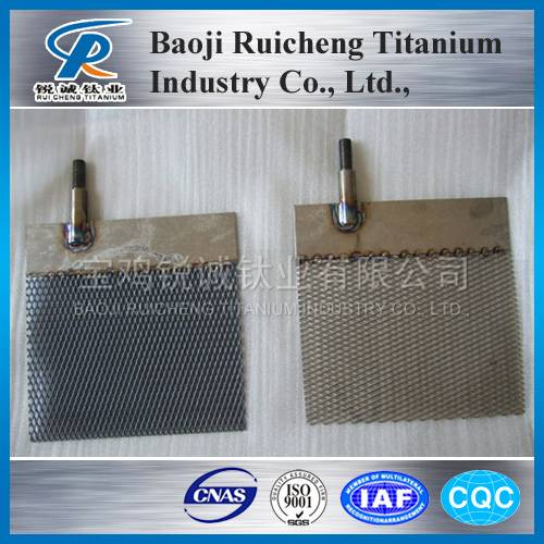 The price titanium anode mesh for water ionizers