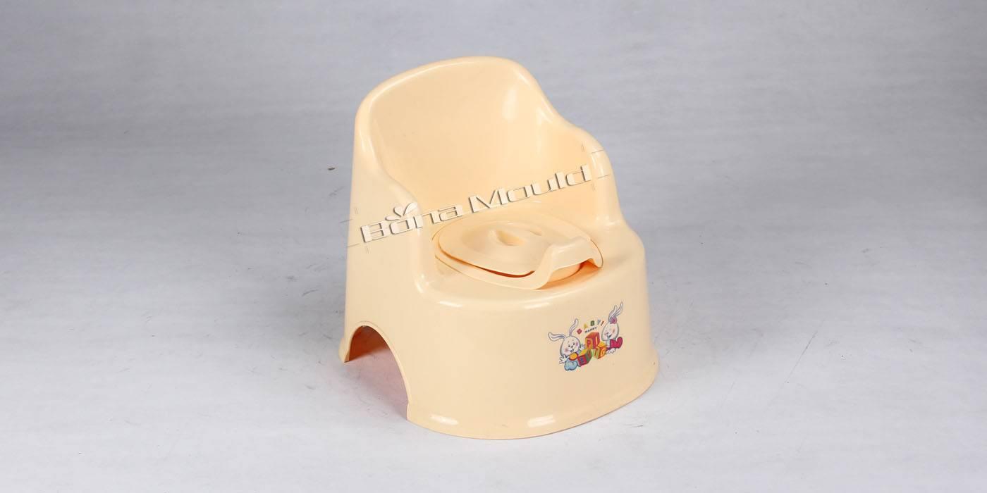 Plastic potty chair mould