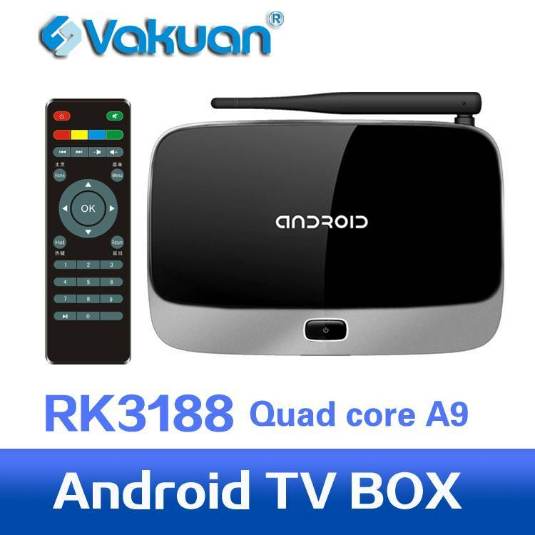 Quad core rk3188 tv box iptv set top box support XBMC ,android live tv box with 2GB RAM 8GB ROM