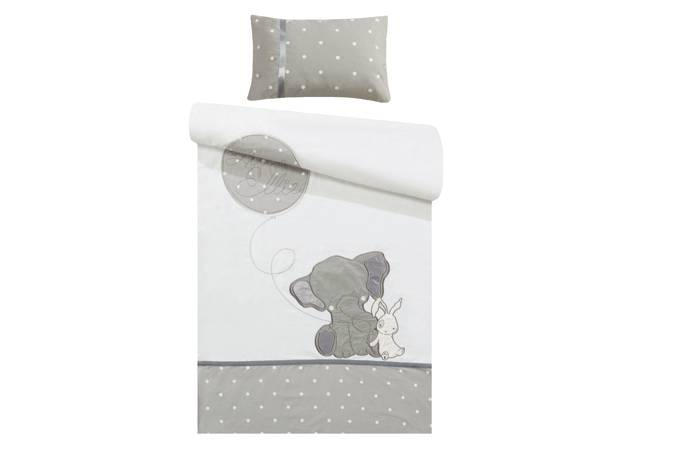 100% cotton elephant duvet cover forbaby