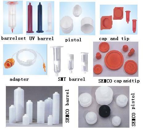 barrel,syringe,cartridge,uv barrel,tips,cap,adpter