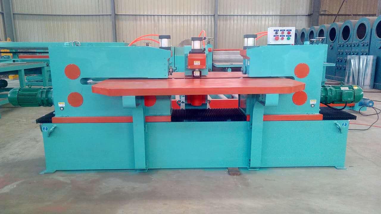 Steel coil side guard plate shearing machine