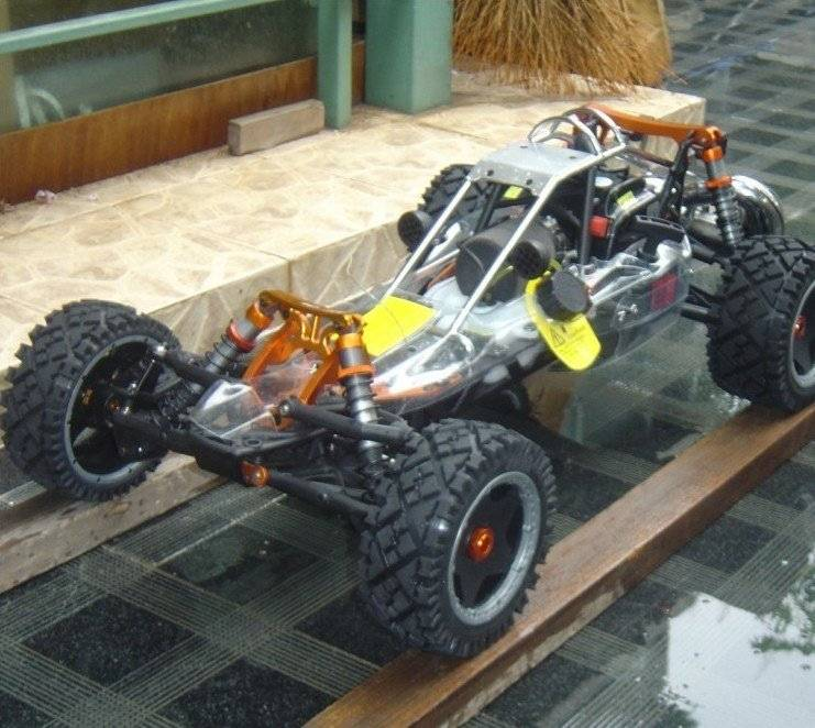 29cc metal head baja + DDM pipe + metal roll cage+metal Rear shock brace$699 free shipping