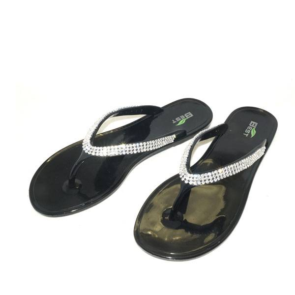 PVC Candy Jelly Flip Flops Sandals Slippers BIP7107