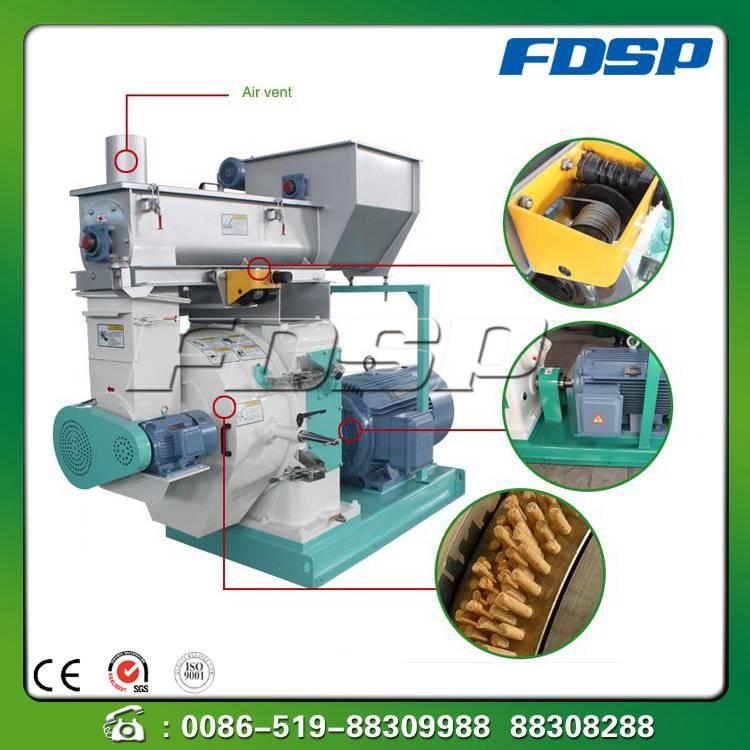 Wide application forestry waste pellet machine