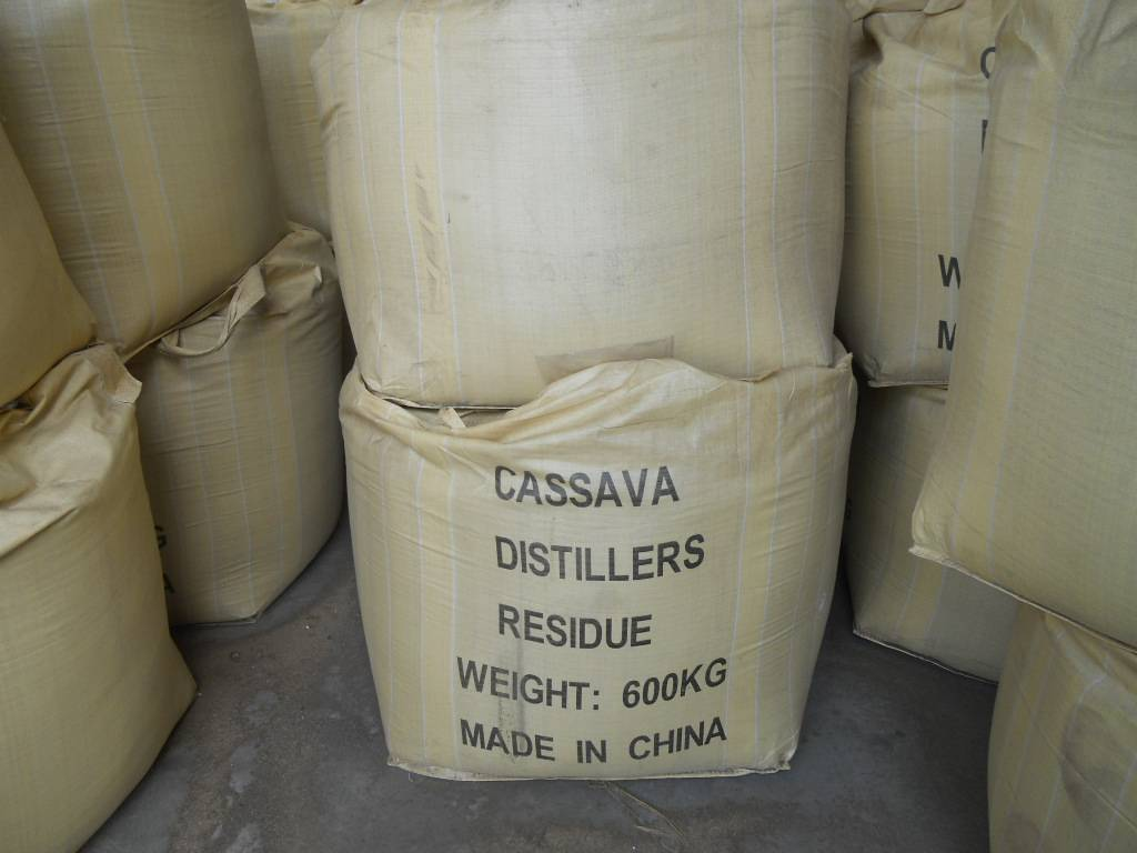 tapioca distillers residue