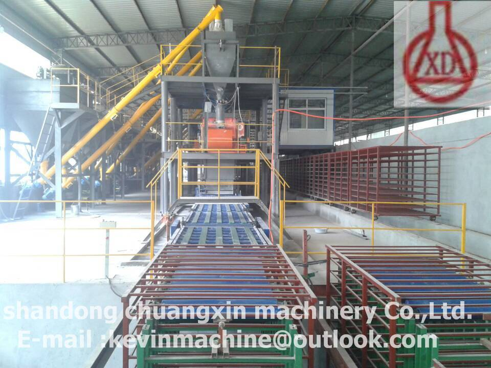 Magnesium oxide PU Wall Panel Making machine