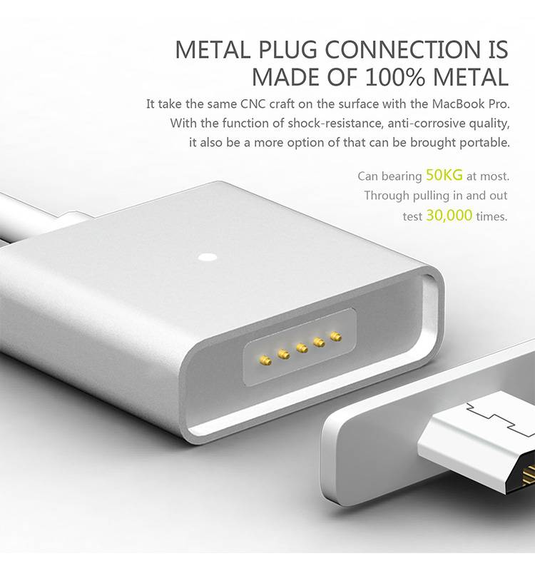 Fast connect Magnetic Micro Usb Cable Magnetic Charging Cable Magnetic USB Cable For Iphone