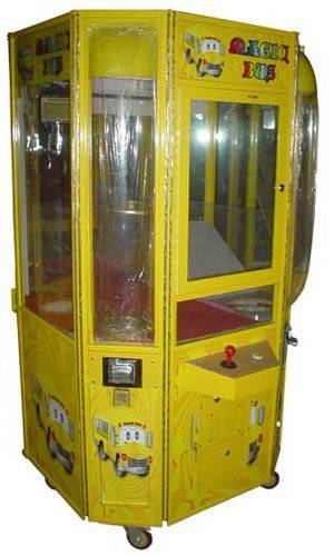 sell the newest claw crane gamevending machine