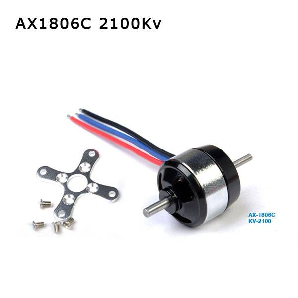 High torque small brushless dc motors AX1806C 2100KV for rc hobby airplane