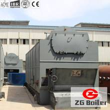assembled biomass steam boiler
