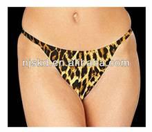 sexy leopard underwear for women
