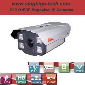 P2p Onvif 2.0MP 1080P Waterproof IR IP Camera (NS5380)