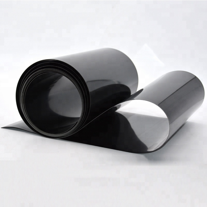Rigid Black Color High Impact 1mm Polystyrene PS Plastic Sheet For Thermoforming