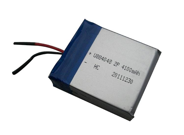 3.7v 4100mAh Lithium Polymer Battery Pack from UFO Energy