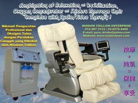 Enjoy your massage treatment while breathing pure oxygen