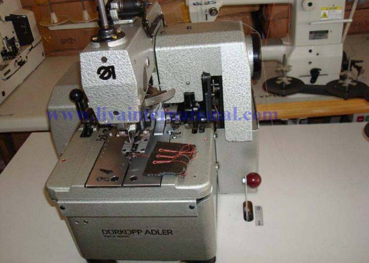used DURKOPP 558 button hole eyelet sewing machine