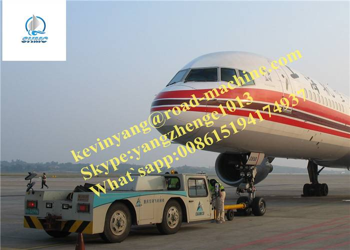 54Kn Towing Capacity For Aircraft Tractor And Total Weight 7500KG Can Towing 80000KG Plane