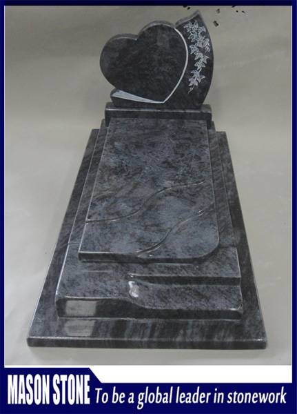Line Engraving Bahama Blue Tombstone