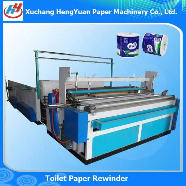Full Automatic Sanitary Paper Rewinder Machine