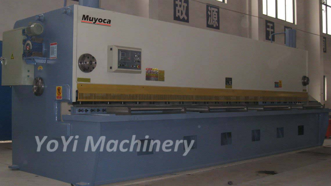 QC11Y-6x5000 cnc steel cutting machine
