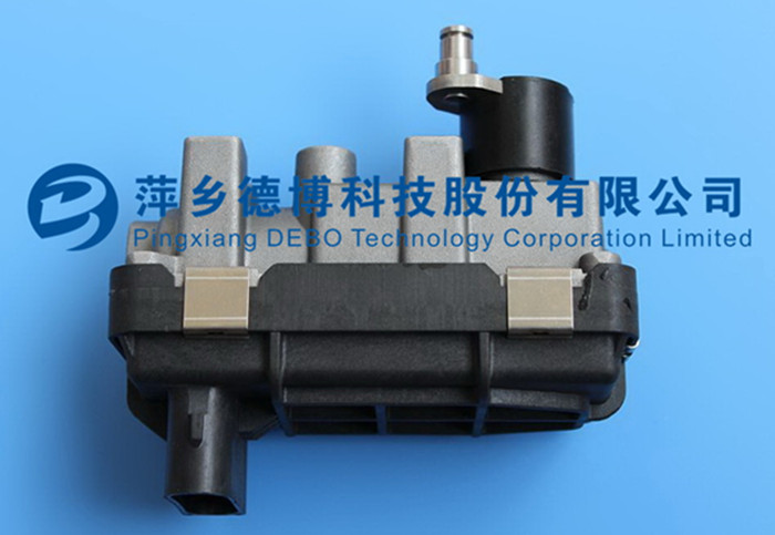 Newly-Developed G-186 Electronic Actuator for Turbocharger