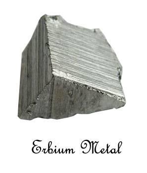 Erbium Metal