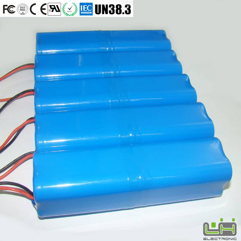 Sell 18650 lithium ion battery pack 5200mah solar equipment battery