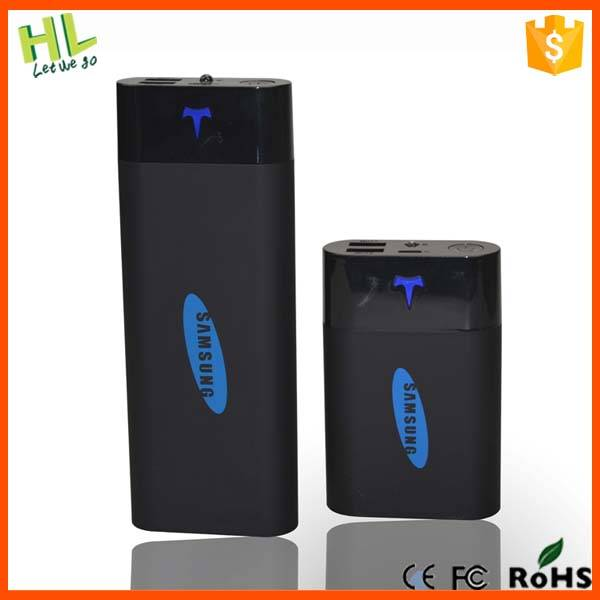 Newest design powerbank dual USB for mobile phone