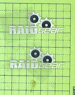 Rub-on decal dry transfer printed sticker