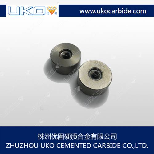 Cemented carbide wire drawing die blanks
