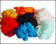 dope dye color virgin/semi vrigin/recycle polyester staple fiber