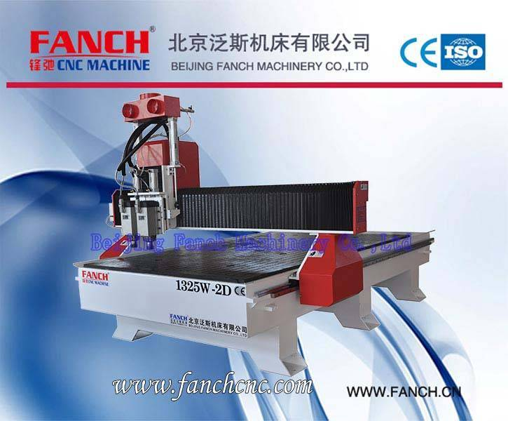 Offer Wood Two-spindle CNC Cutting/Drilling Machine