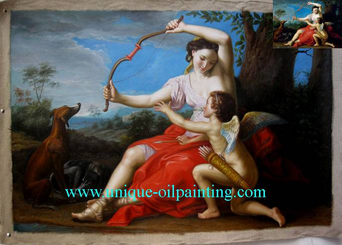 oil painting, handmade oil painting, classical oil painting