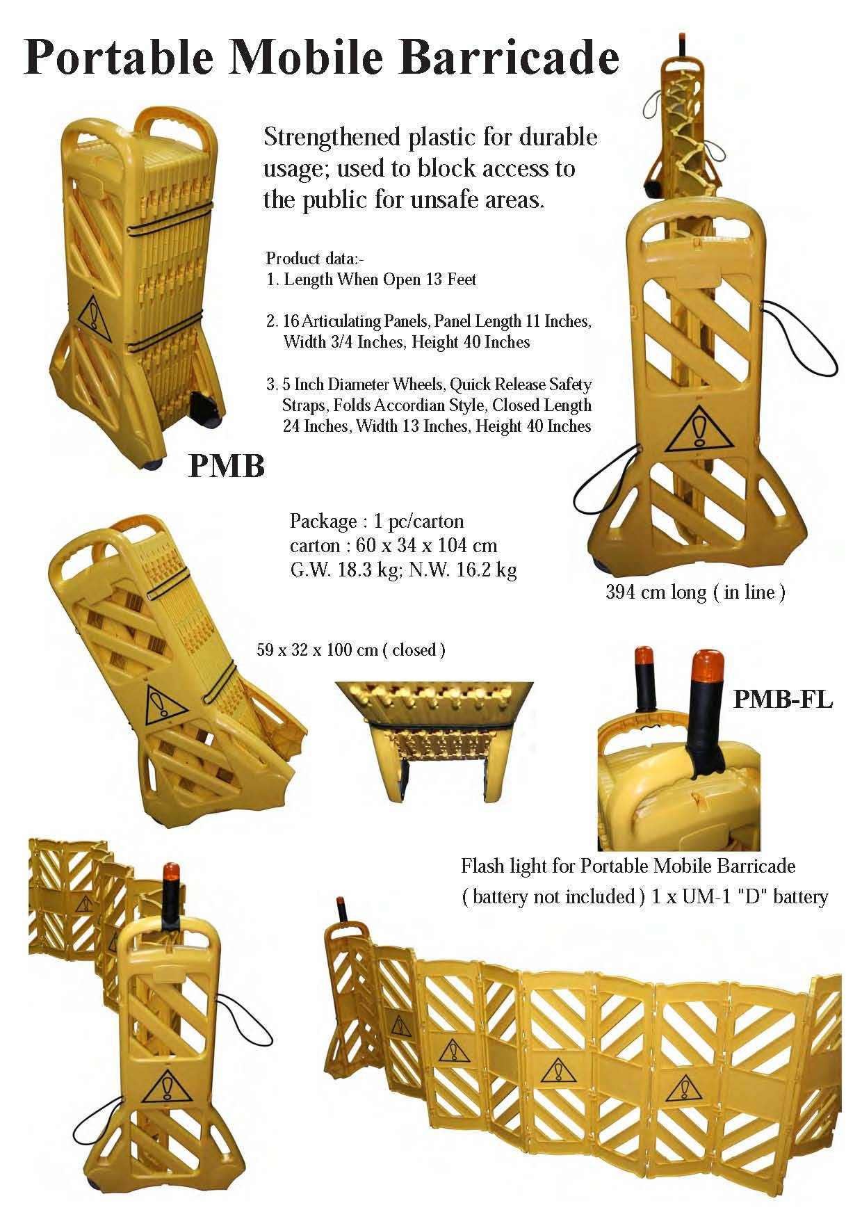 sell portable mobile barricades