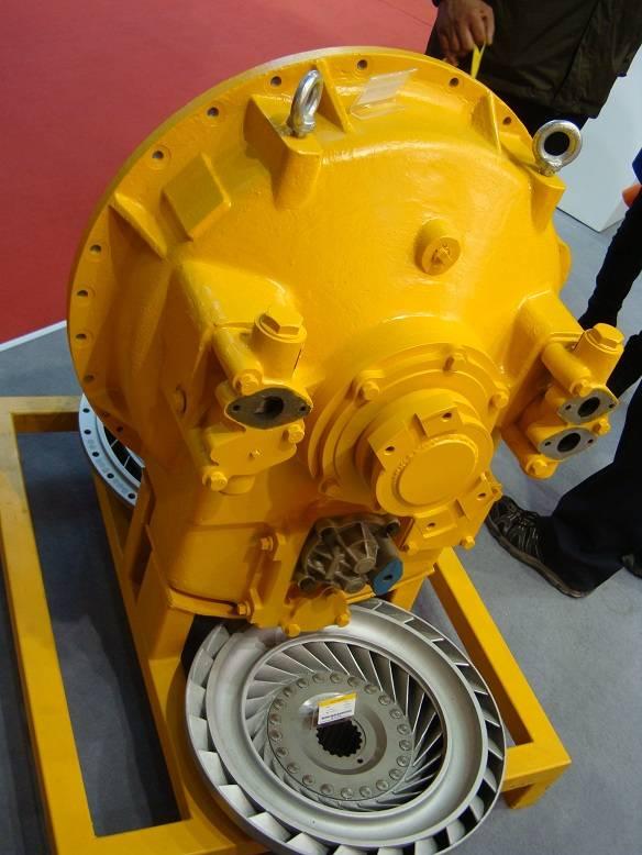 shantui bulldozer torque converter