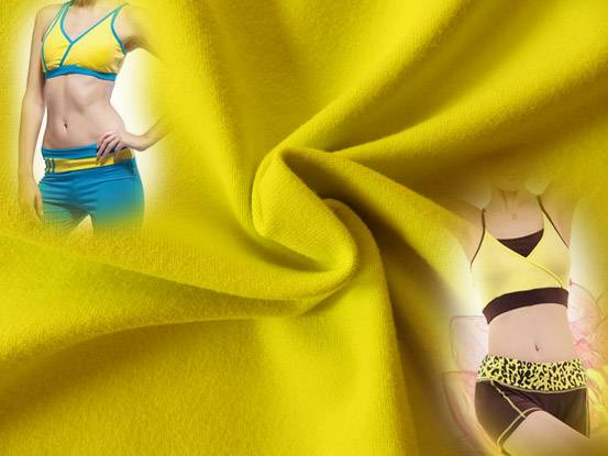Cotton Texture Nylon Spandex Stretching Fitnesswear Fabric