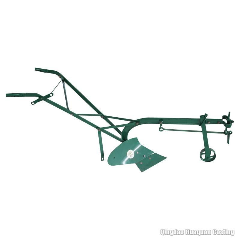 animal-drawn plough