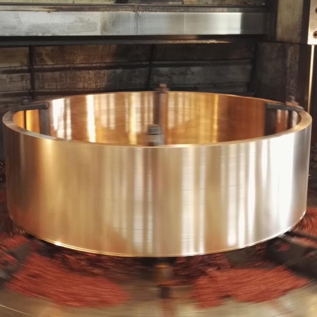 C17200/CuBe2/CW101C/DIN 2.1247 Beryllium Copper Ring