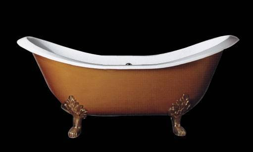 Clawfeet cast iron bathtub