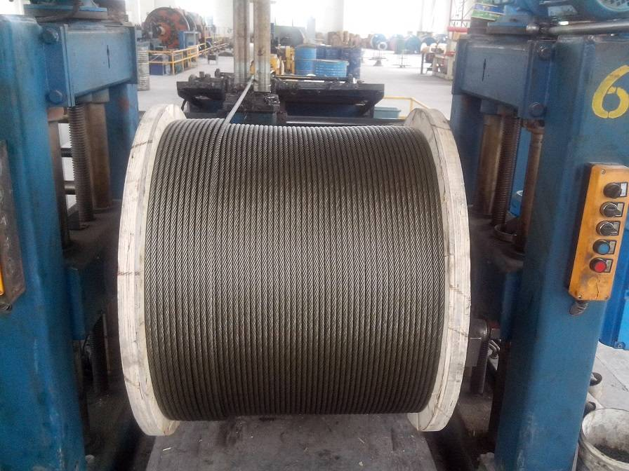 Steel wire ropes for elevators