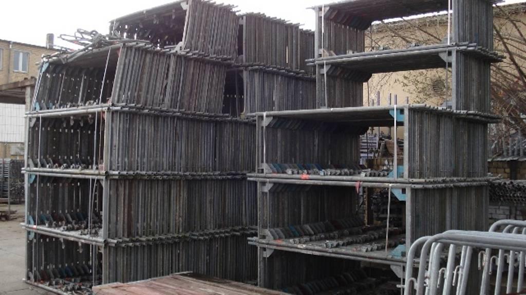 Layher speedy scaf used 3000 sqm, only 47500 Eur, used scaffold, gebrauchtes Geruest