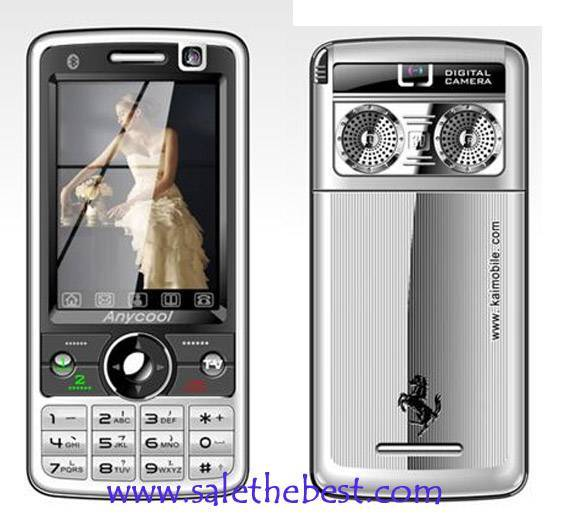 dual card TV&FM phone (Anycool T618) wholesale