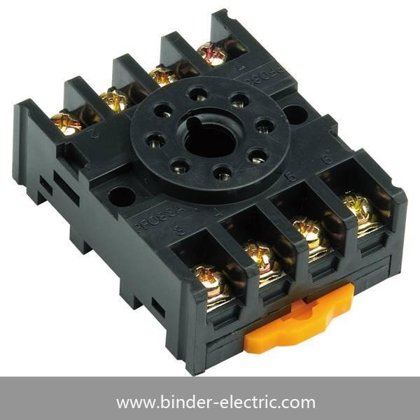 MK series relay socket(PF083A)
