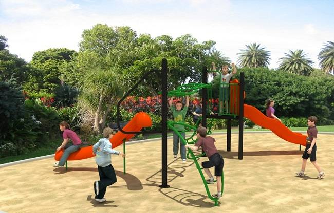 Hot Selling Nest Climbing Series Outdoor Playground Equipment WD-SW0120