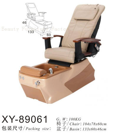 Pedicure Chair Foot Massage XY-89061